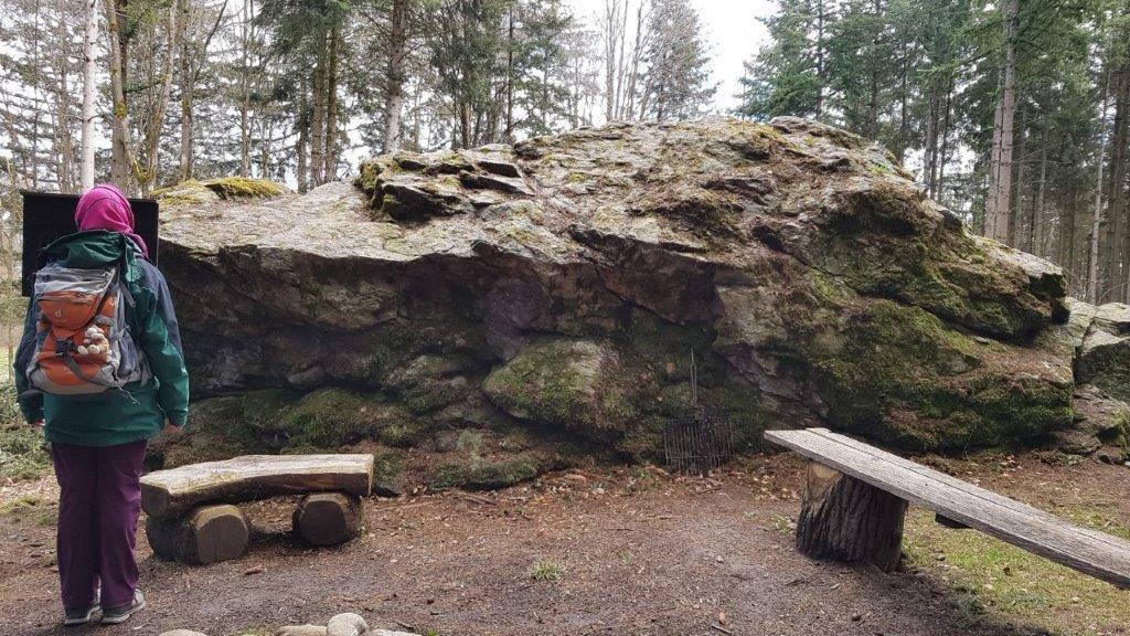 Lohrenstein im Hägglinger Wald